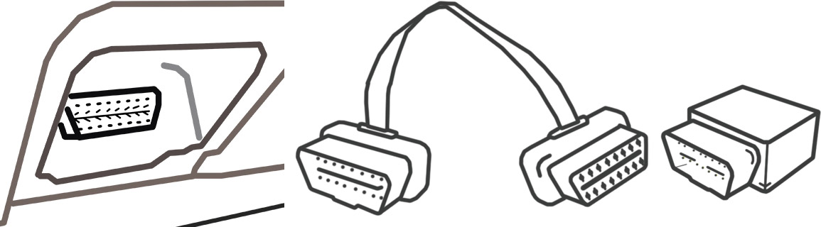 Plug with extension and tracker